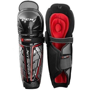 CCM JETSPEED FT370 SHIN GUARD SENIOR